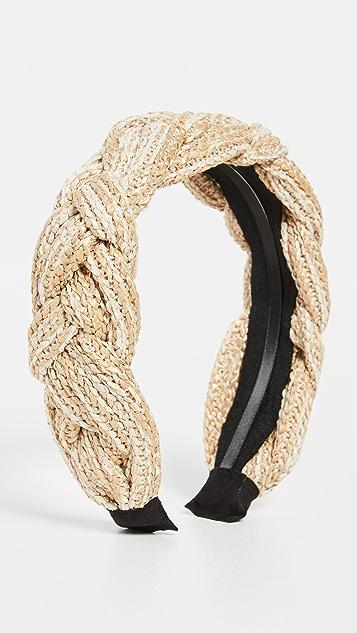 SHASHI Braided Rio Headband