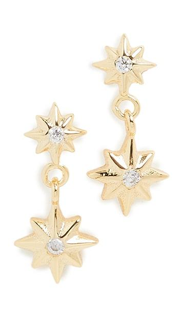 SHASHI Aiko Star Earrings