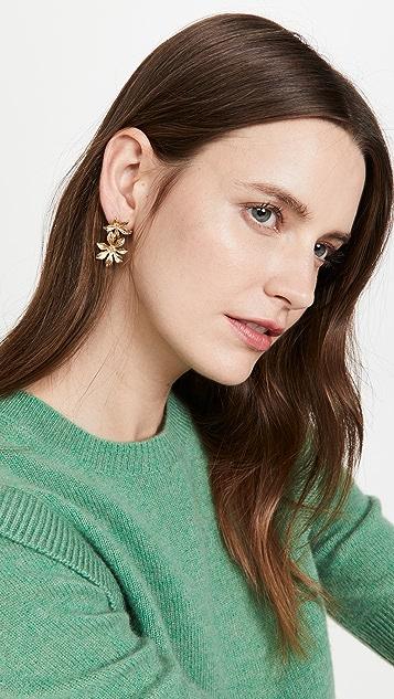SHASHI Frangipani Earrings
