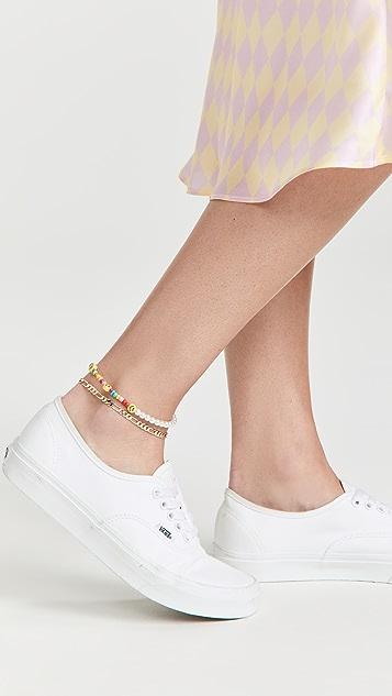 SHASHI Figaro Anklet