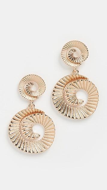 SHASHI Deco 耳环