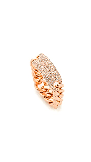 Shay 18k Gold Essential ID Link Ring