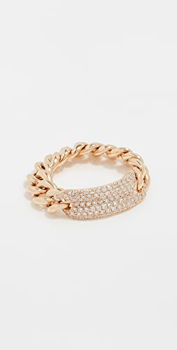 SHAY - 18k Gold Essential ID Link Ring