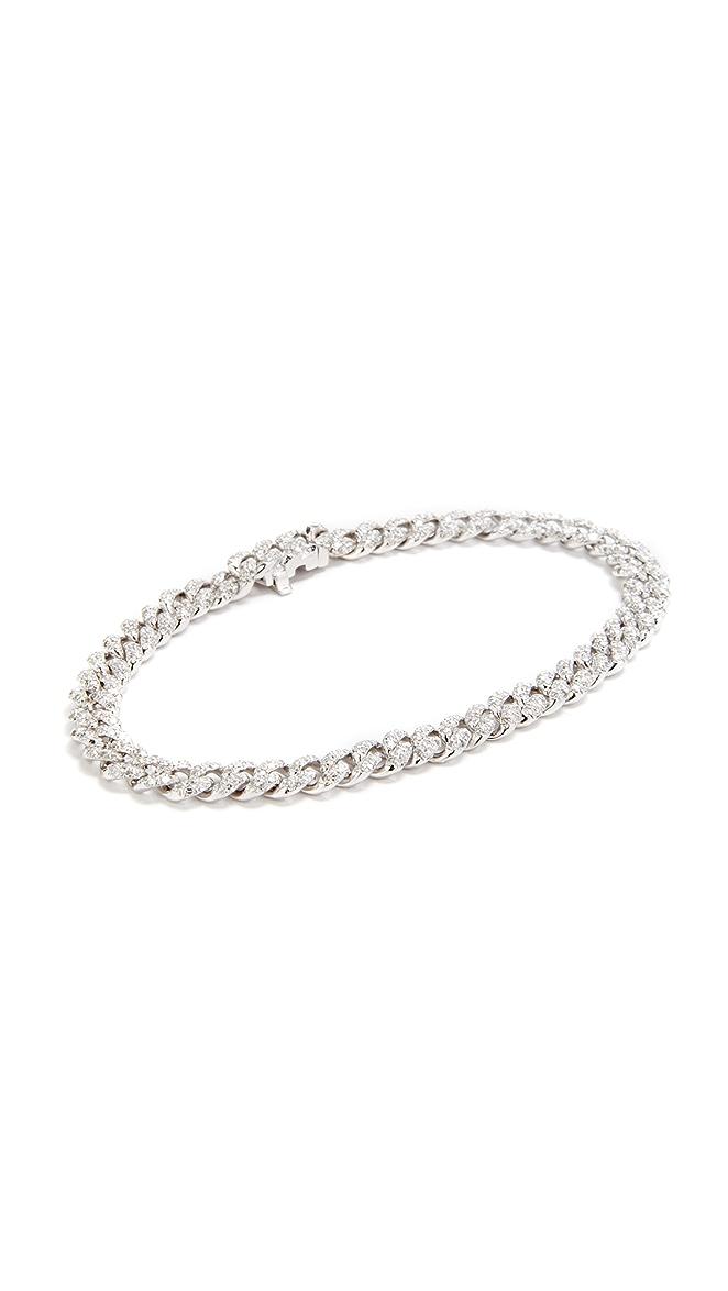 Shay Mini Pave 18k Gold Link Bracelet T2zaLo