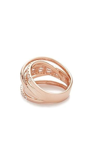 Shay Essential Orbit Diamond 18k Gold Ring