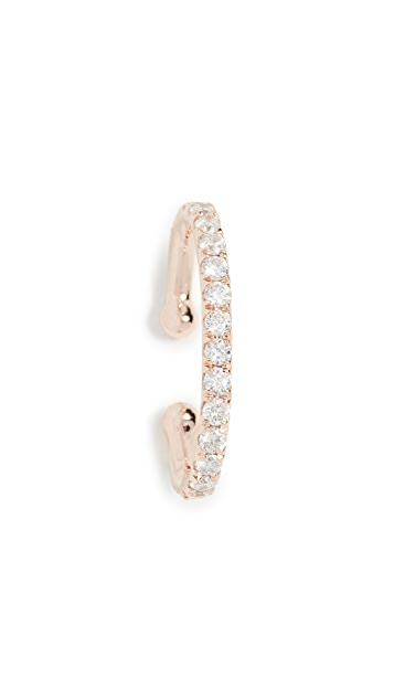 Shay 18k Single Pave Ear Cuff