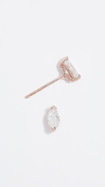 Shay 18k Marquise Stud Earrings