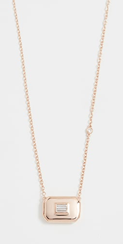 SHAY - 18k Essential Baguette Diamond Necklace