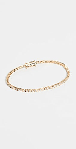 SHAY - 18k Mini Tennis Bracelet
