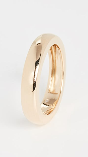 Shay 3 Sided Gold Band Ring