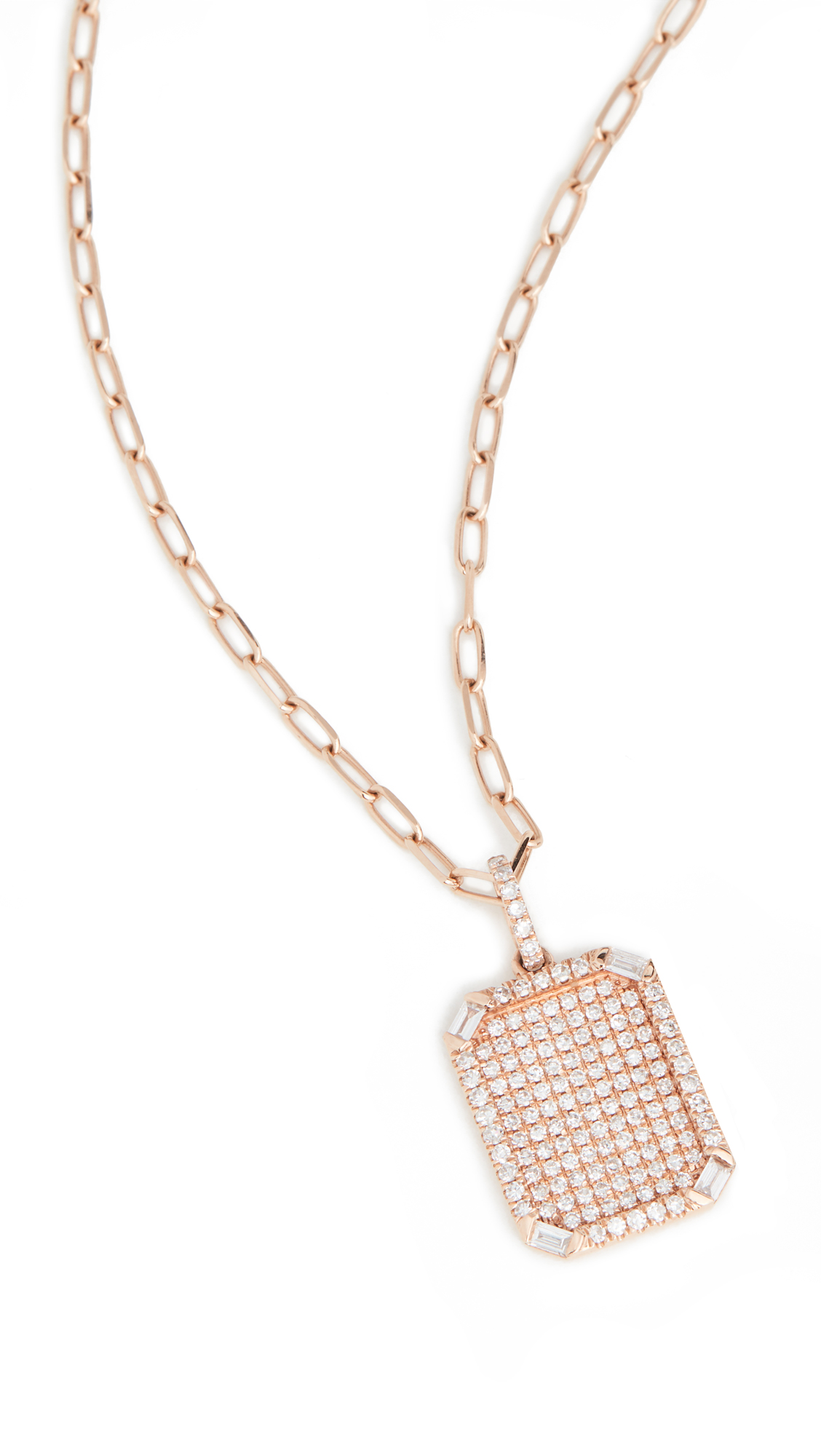 Shay Pave ID Pendant Necklace