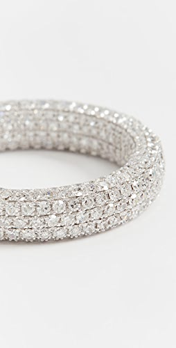 SHAY - 18k Inside & Out Diamond Eternity Band