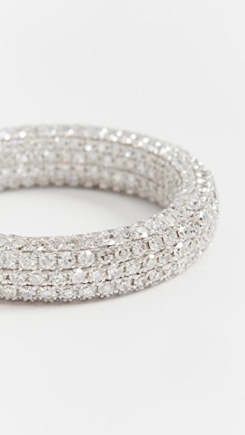 SHAY 18k Inside & Out Diamond Eternity Band