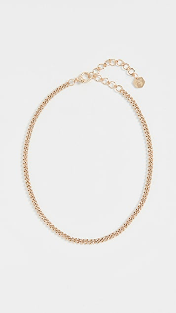 Shay 18k Baby Link Pave Choker