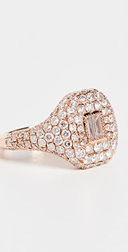 SHAY - 18k Essential Pave Pinky Ring