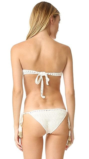 She Made Me Laharia Bandeau Bikini Top