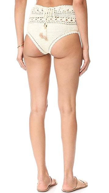She Made Me Farah High Waist Bikini Bottoms