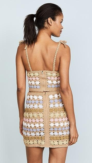 She Made Me Maala Crochet Cami