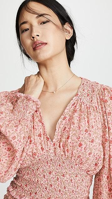 She Made Me Блуза Lia со сборками