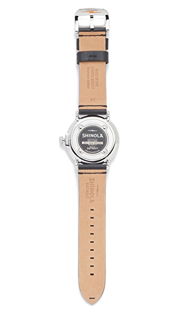Shinola The Runwell 47mm Watch with Date Window