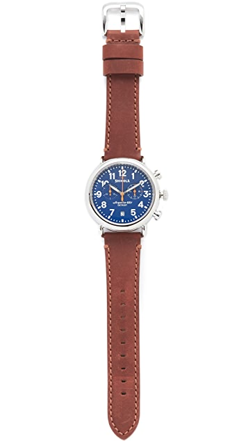 Shinola The Runwell Chronograph 41mm Watch