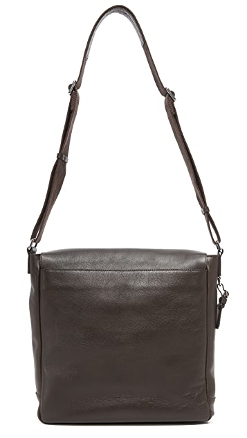 Shinola North / South Messenger Bag