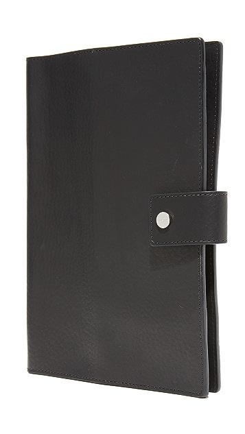 Shinola Medium Notebook & iPad Mini Leather Cover