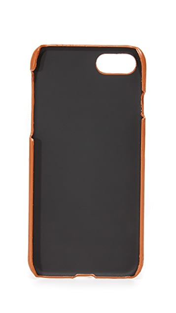 Shinola Leather iPhone 7 Case