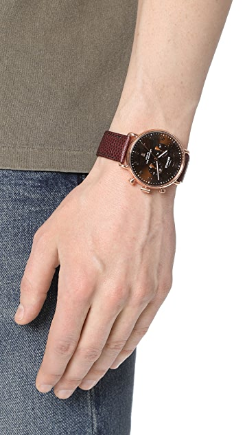 Shinola The Canfield Chronograph 43mm Watch