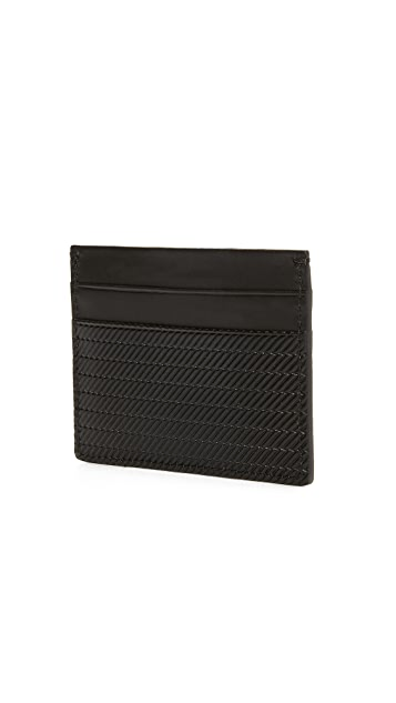 Shinola Embossed 5 Pocket Card Case