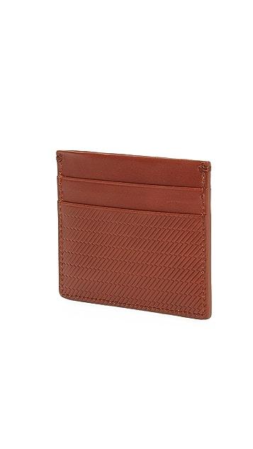 Shinola Embossed 5 Pocket Card Case