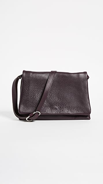 Shinola Rolled Flap Bag