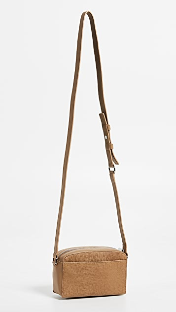 Shinola Curved Top Cross Body Bag
