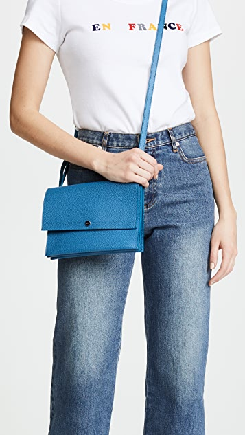 Shinola Accordion Cross Body Bag