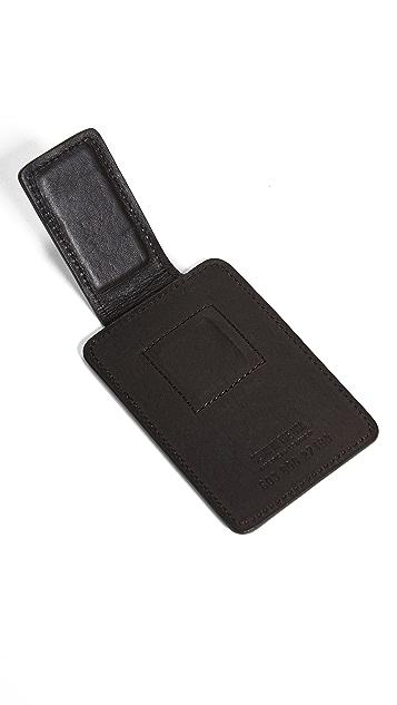 Shinola Magnetic Money Clip Card Wallet