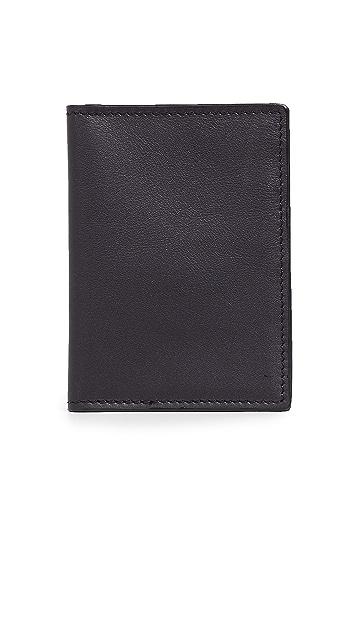 Shinola Signature Passport Wallet