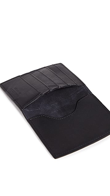 Shinola Signature Passport Wallet