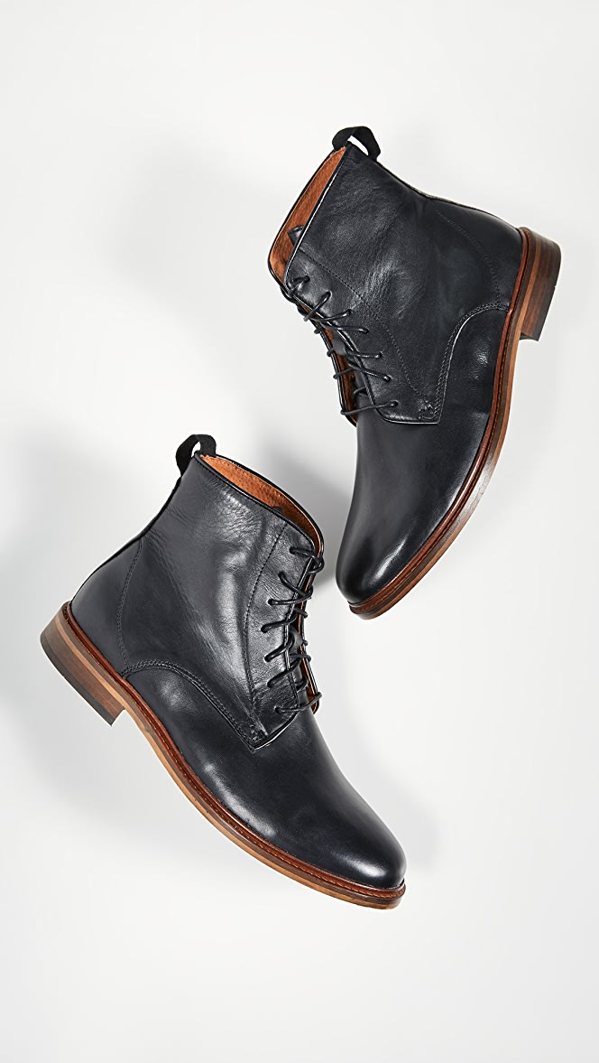 Shoe The Bear Ned Leather Boots | EAST DANE