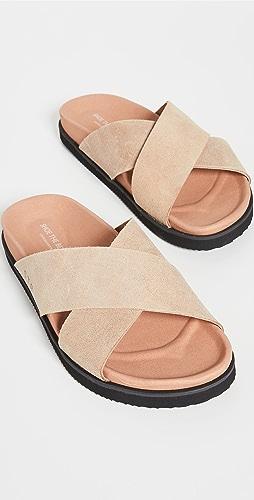 Shoe The Bear - Luma Suede Cross Sandals