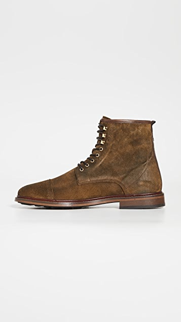 Shoe The Bear Curtis Waxed Suede Boots