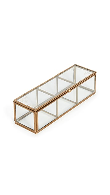 Shopbop @Home Divided Glass Box