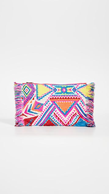 Shopbop @Home Bright Vintage Pouch