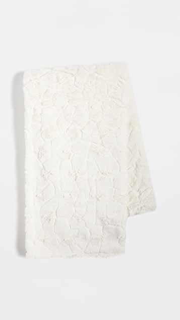 Shopbop @Home 人造皮毛毯子
