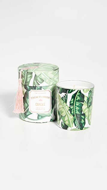 Shopbop @Home Palm Leaf Passion Candle