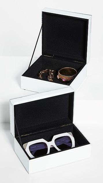 Shopbop @Home 紫水晶晶簇铰接盒