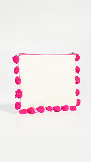 Shopbop @Home Multi Purpose Pom Pom Pouches