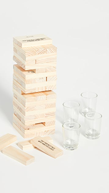 Shopbop @Home Stumbling Blocks Drinking Game