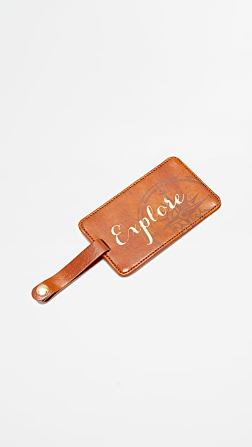 Shopbop @Home Seek Explore Discover 行李标签盒子套装