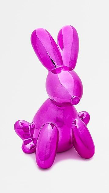 Shopbop @Home Balloon Money Bank Bunny