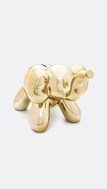 Shopbop @Home Balloon Money Bank Elephant